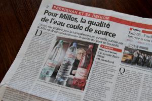 Milles avec sa gamme Sémillante, a fait récemment l'objet d'un article dans la presse locale.